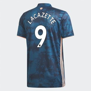 adidas Arsenal Alexandre Lacazette Third Shirt 20/21 Mens