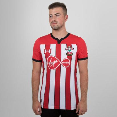 Under Armour Southampton FC 18/19 Home S/S Football Shirt