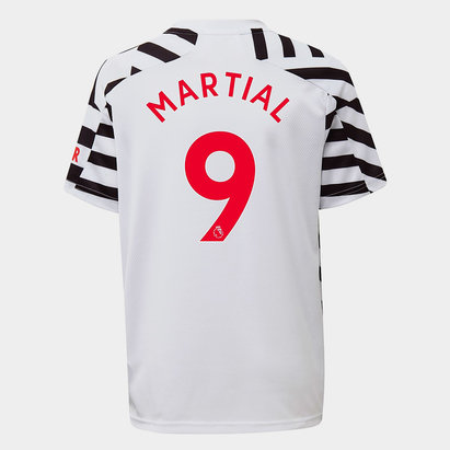 adidas Manchester United Anthony Martial Third Shirt 20/21 Kids