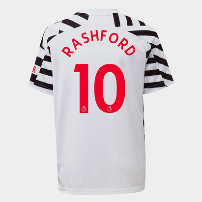 adidas Manchester United Marcus Rashford Third Shirt 2020 2021 Junior