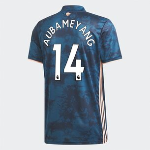 adidas Arsenal Aubameyang Third Shirt 20/21 Kids