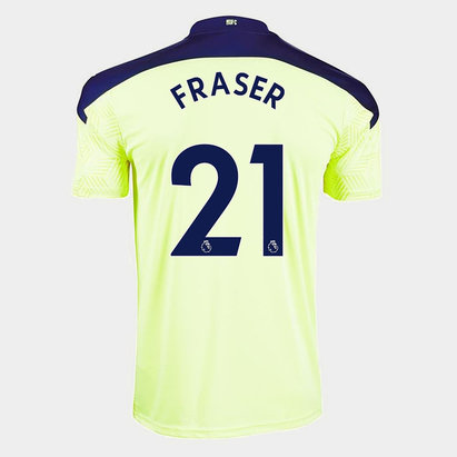 Puma Newcastle United Ryan Fraser Away Shirt 20/21 Mens