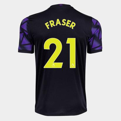 Puma Newcastle United Ryan Fraser Third Shirt 20/21 Kids