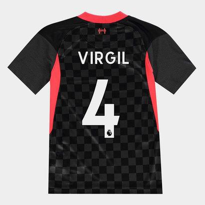Nike Liverpool Virgil van Dijk Third Shirt 20/21 Kids