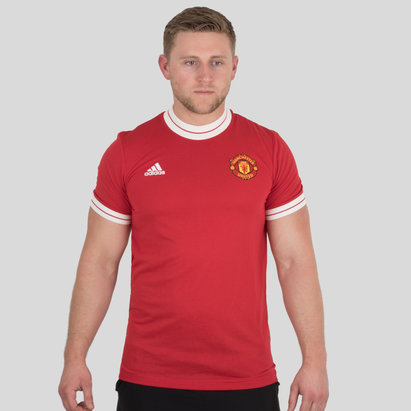 adidas Manchester United Icon OM 93 Retro Football Shirt