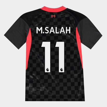 Nike Liverpool Mohamed Salah Third Shirt 20/21 Kids
