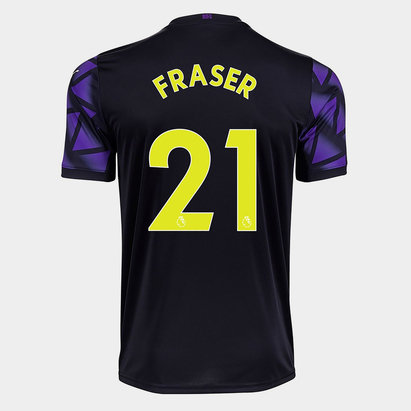 Puma Newcastle United Ryan Fraser Third Shirt 20/21 Mens