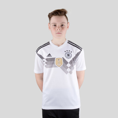 adidas Germany 2018 Home Kids S/S Replica Football Shirt
