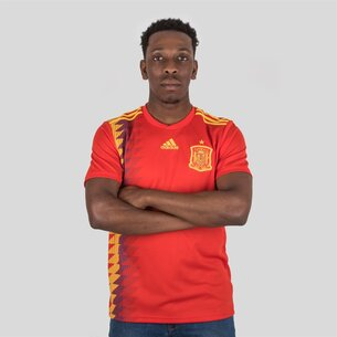 adidas Spain 2018 Home S/S Replica Football Shirt