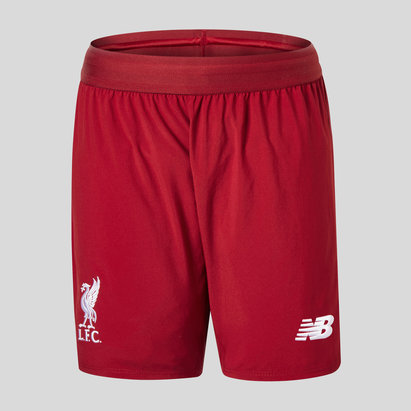 New Balance Liverpool FC 18/19 Home Kids Football Shorts