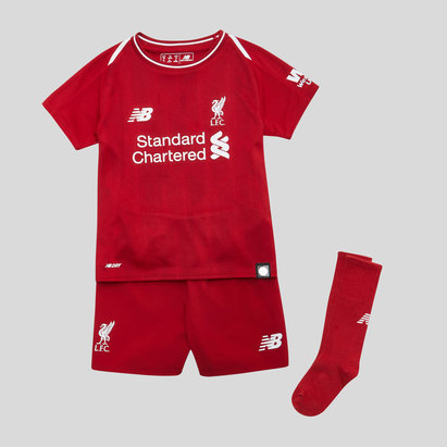 New Balance Liverpool FC 18/19 Home Mini Kids Football Kit