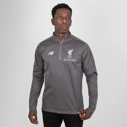 New Balance Liverpool FC 18/19 Elite 1/4 Zip Football Training Jacket
