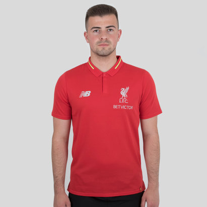 New Balance Liverpool FC 18/19 Elite Leisure Football Polo Shirt