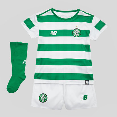 New Balance Celtic FC 18/19 Home Mini Kids Football Kit