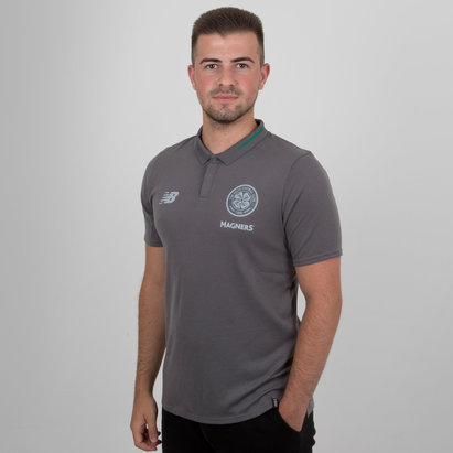 New Balance Celtic FC 18/19 Elite Leisure Football Polo Shirt