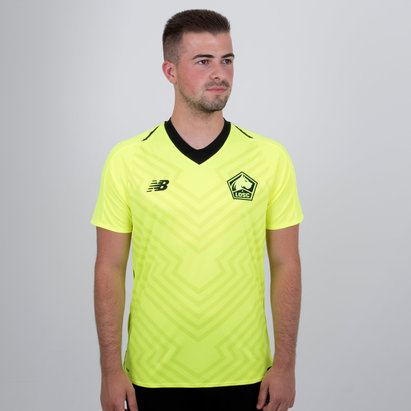 New Balance Lille OSC 18/19 Away S/S Replica Football Shirt