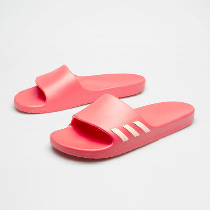 adidas Aqualette Womens Shower Slide Flip Flops