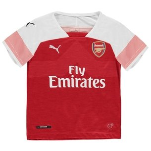 Puma Arsenal 18/19 Home Kids S/S Replica Football Shirt