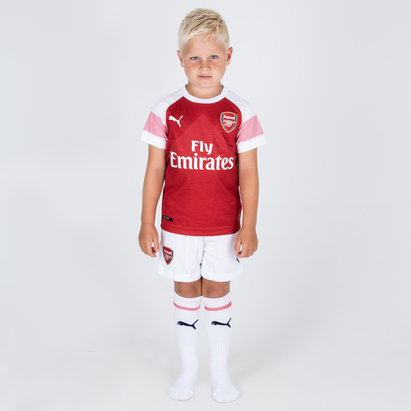 Puma Arsenal 18/19 Home Mini Kids Football Kit