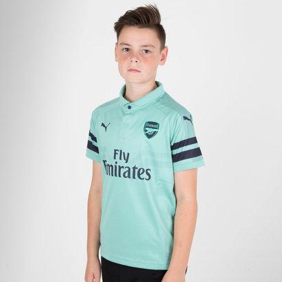 Puma Arsenal 18/19 3rd Kids S/S Replica Football Shirt