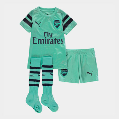 Puma Arsenal 18/19 3rd Mini Kids Football Kit