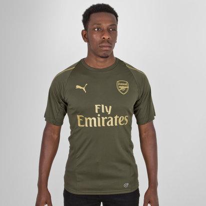Puma Arsenal 18/19 Players S/S Football Training Shirt