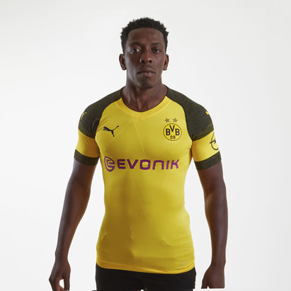 Puma Borussia Dortmund 18/19 Home Players Authentic Football Shirt