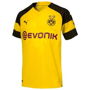 Puma Borussia Dortmund 18/19 Home Replica Football Shirt