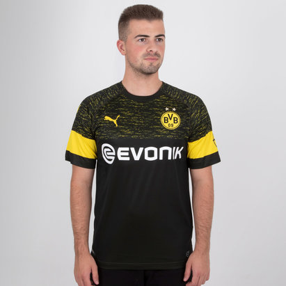 Puma Borussia Dortmund 18/19 Away Replica Football Shirt