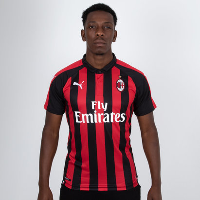 Puma AC Milan 18/19 Home S/S Replica Authentic Fit Football Shirt