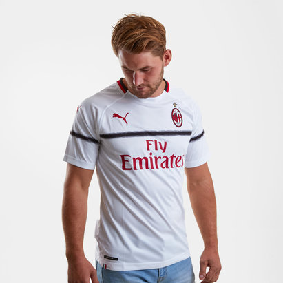 9570b2b1dfa Puma AC Milan 18 19 Away S S Replica Football Shirt