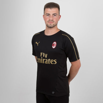 Puma AC Milan 18/19 Players S/S Football Training Shirt