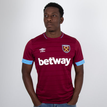 Umbro West Ham United 18/19 Home S/S Replica Football Shirt