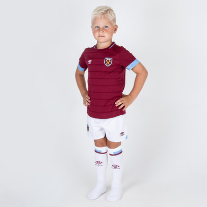 Umbro West Ham United 18/19 Home Kids Replica Football Kit