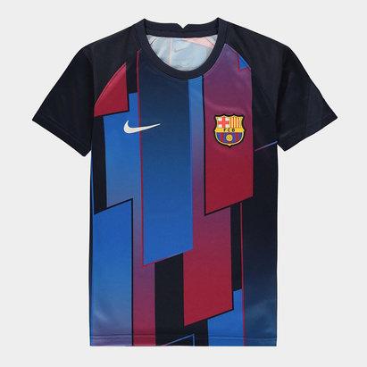 Nike Barcelona Pre Match Shirt 2021 2022 Junior