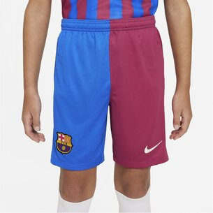 Nike Barcelona Home Shorts 2021 2022 Junior