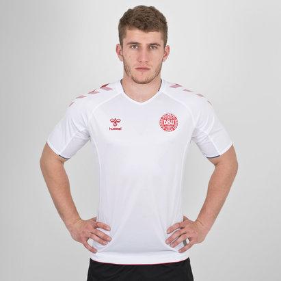 Hummel Denmark 2018 Away S/S Football Shirt