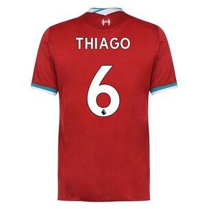 Nike Liverpool Thiago Alcantara Home Shirt 2020 2021