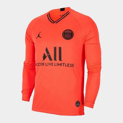 Nike Paris Saint Germain Away L/S Shirt 19/20 Mens