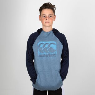 Canterbury Vaposhield Kids Hooded Training Sweat