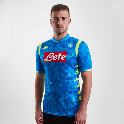 Kappa Napoli 18/19 Home S/S Replica Football Shirt