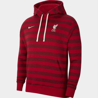 Nike Liverpool Fleece Pullover Hoodie 2021 2022 Mens
