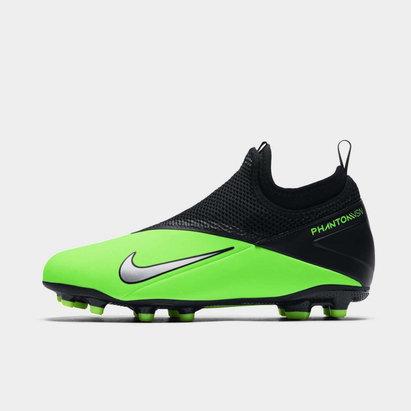 Nike Phantom Vision 2 Academy DF FG Junior Football Boots