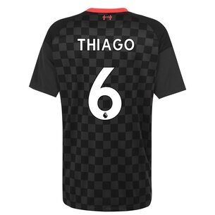 Nike Liverpool Thiago Alcantara Third Shirt 2020 2021
