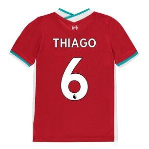 Nike Liverpool Thiago Alcantara Home Shirt 20/21 Junior