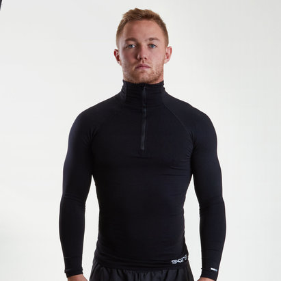 SKINS DNAmic Compression Half Zip L/S Top