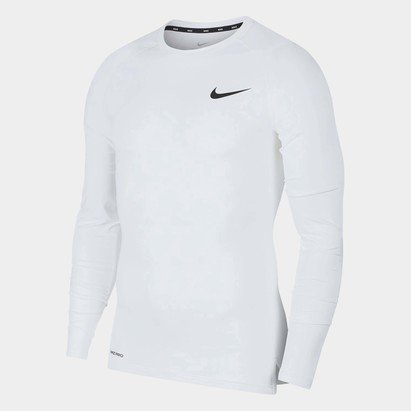 Nike Pro Core Long Sleeve T Shirt Mens