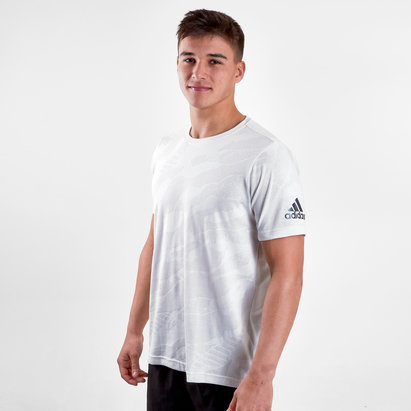 adidas FreeLift Jacquard Climalite S/S Training T-Shirt
