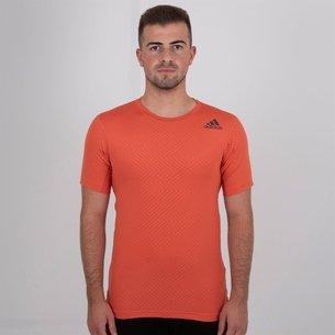 adidas Free Lift Short Sleeve Training T Shirt Mens