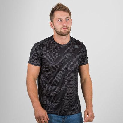 adidas FreeLift Climacool Graphic S/S Training T-Shirt